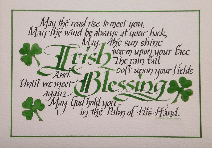 Irish Blessing Music Musings Meanderings